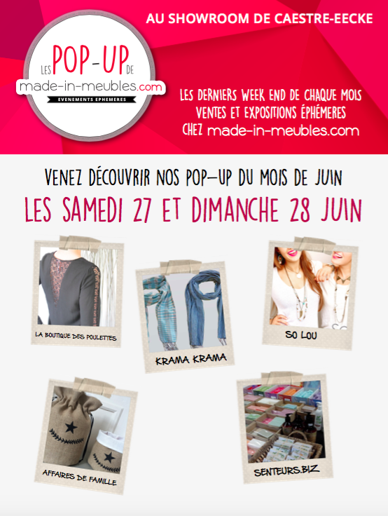 pop-up made in meubles